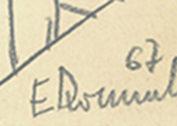 Sygnatura Edwarda Dwurnika