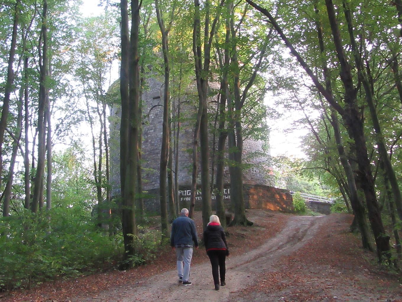 Wieża Bismarcka na Zielonym Wzgórzu. Z archiwum autorki