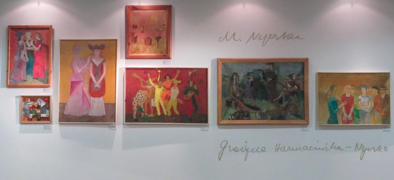 Ogólny widok wystawy w Sali pod Piramidą, Książnica Pomorska