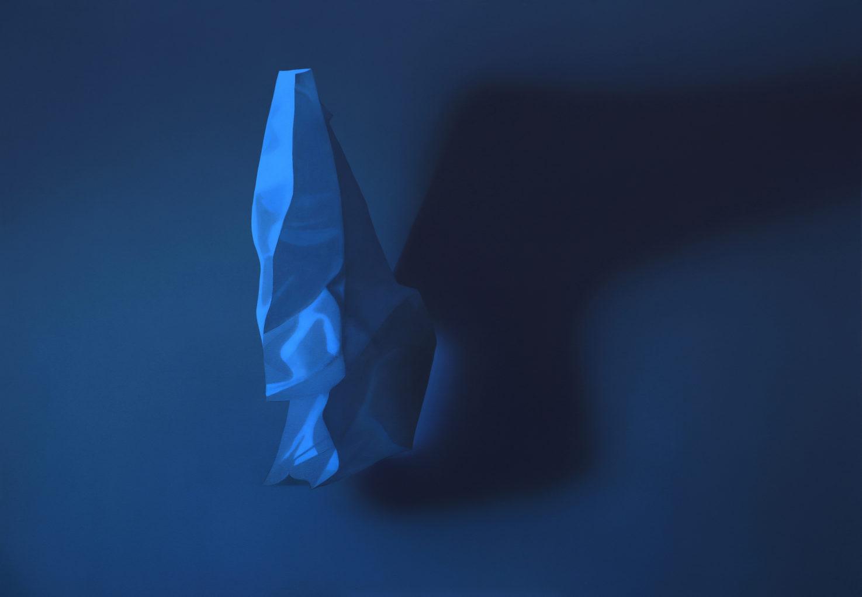 Marlena Lenart, Luminance II, 2017, akryl na płótnie, 140 x 100 cm