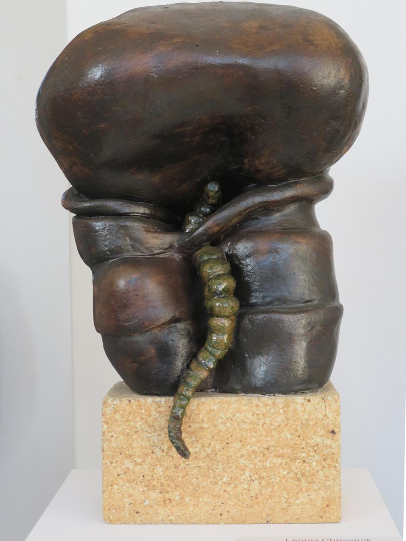 Leonia Chmielnik, Metamorfoza II, ceramika, 1986