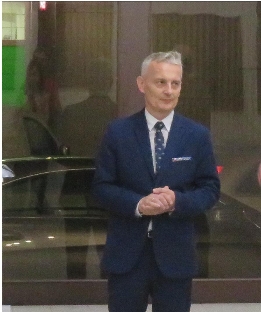 Pan Artur Sawczuk, Dyrektor Państwowego Liceum Sztuk Plastycznych im. Constantina Brâncușiego