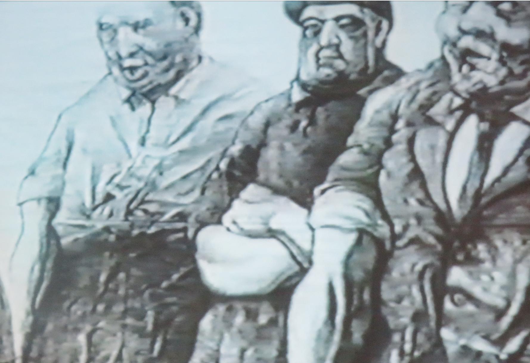 """Kadr z filmu """"Skazany na Plakat"""", 2020, reż. Marek Osajda, zdjęcia i montaż Bartosz Jurgiewicz"""