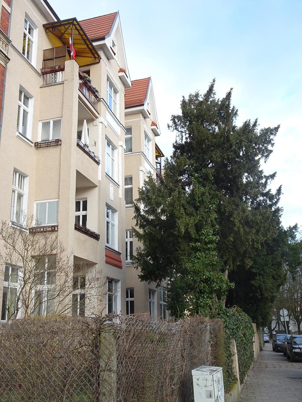 Szczecin, Mühlenstrasse (obecna ul. Słowackiego 6)