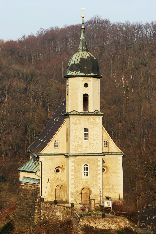 Tharandt, kościół, fot. M.J., https://commons.wikimedia.org/w/index.php?curid=3355307 – dostęp 27.04.2020