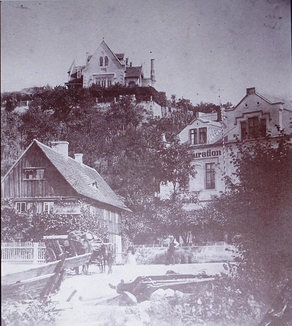 August Kotzsch, Fragment Loschwitz, XIX/XX, fotografia, https://commons.wikimedia.org/wiki/Category:Photographs_of_Loschwitz_by_August_Kotzsch – dostęp 13.05.2020.
