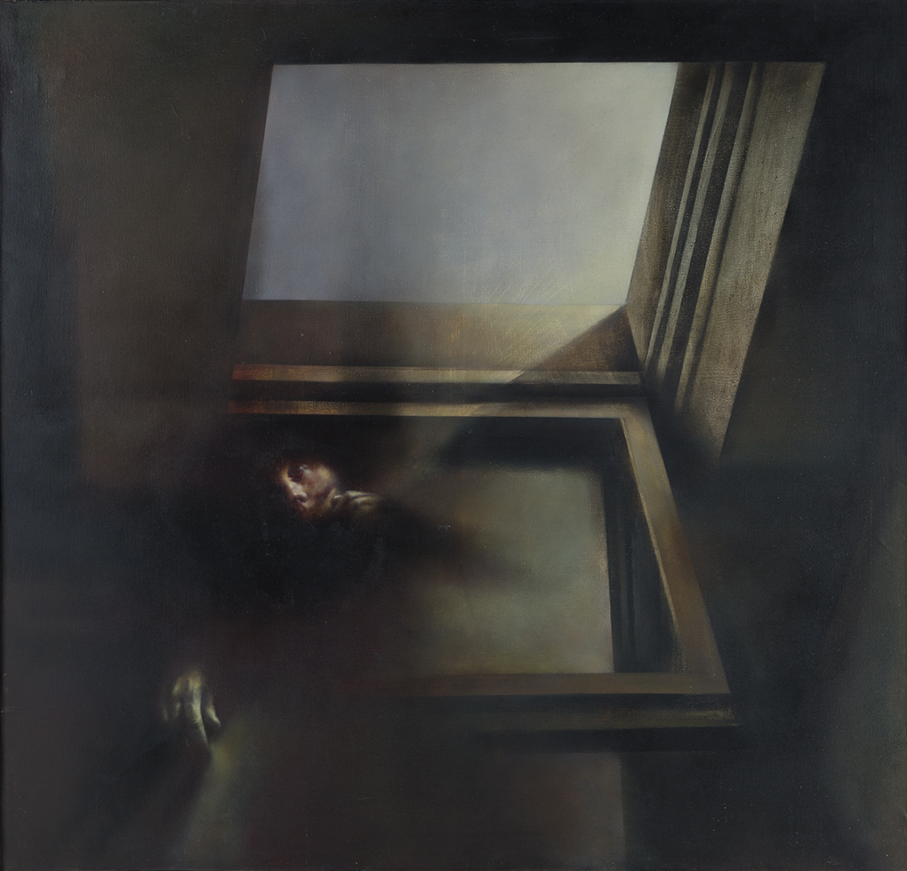 Ryszard Kiełtyka (1944), Spojrzenia/ Gazes/ 1978, olej, płótno/ oil, canvas/ 130x135 cm, 9. FPMW w Szczecinie, Grand Prix/ The 9th Festival Of Polish Contemporary Painting in Szczecin Grand Prix/ 1978, ze zbiorów Muzeum Narodowego w Szczecinie/ from the collections of the National Museum in Szczecin/ Fot. Arkadiusz Piętak