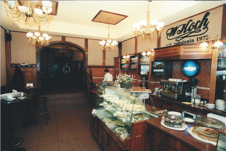 Wnętrze cukierni firmy Koch (1993). Z archiwum artysty