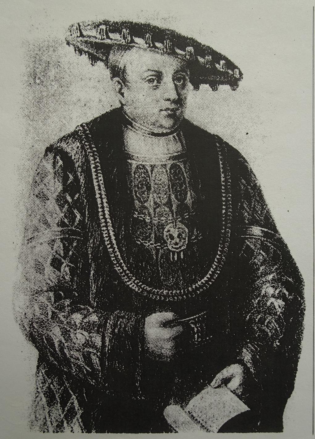 Ferdinand Müller według Ludwiga Mosta, nie datowany, około 1850, litografia na papierze, fotografia archiwalna Muzeum Narodowe w Szczecinie